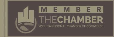 Member of Wichita Regional Chamber of Commerce